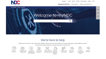 NDC Technologies Continues to Enhance the Customer Service Experience