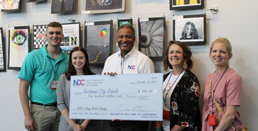 NDC Presents Art Donation to Northmont High School